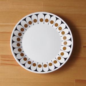 ヴィンテージ食器 ホステステーブルウェア ブラックベルベット プレート 中皿 23cm #19031...