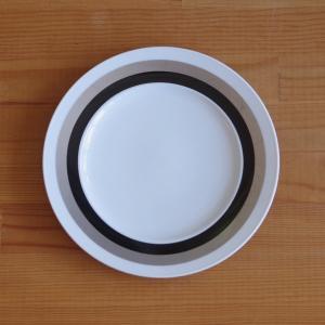 ローゼンタール 黒 シルバー レトロモダン デザートプレート ケーキ皿 19cm Rosenthal...