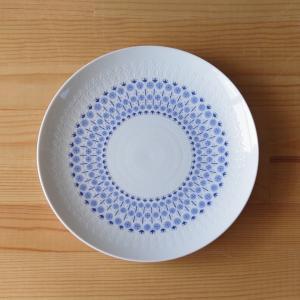 ドイツの陶磁器メーカー Rosenthal のデザートプレートです。  デンマーク人アーティスト B...