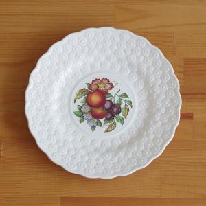 イギリスの陶器メーカー SPODE のデザートプレートです。 やや大きめのサイズです。  Alden...