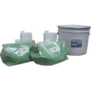 【送料無料】超速乾!2液水性ウレタン塗床材 防塵塗料 ハードフロアーコート 11kg floor-seal