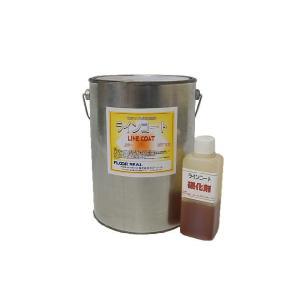 ラインコート 3kg (ライン用二液性エポキシ樹脂カラータイプローラー塗り仕上剤) floor-seal