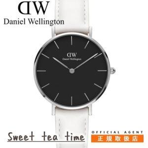 142bf3e4a3 ダニエルウェリントン Daniel Wellington 腕時計 レディース 32mm Classic クラシックペティットボンダイブラック シルバー  ウオッチ 00100284 正規品