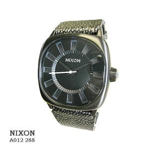 ニクソン 腕時計 NIXON A012288 Revolver ALL BLACK/Pebble   ブラック文字盤  ペベル革ベルト クオーツ メンズ|flore