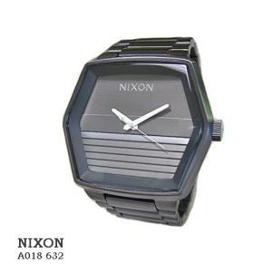 ニクソン 腕時計 NIXON  A018632  MAYOR ALL GUNMETAL  グレー文字盤 SSベルト クオーツ メンズ|flore