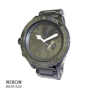 ニクソン 腕時計 NIXON 42-20 A035632 ALL GUNMETAL  ブラック文字盤 SSベルト クオーツ ボーイズ|flore