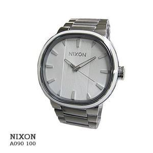 ニクソン 腕時計 NIXON  A090100 Capital  White キャピタル ホワイト文字盤  SSベルト クオーツ メンズ|flore