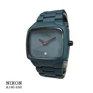 ニクソン 腕時計 NIXON  A140690 PLAYER  GUNSHIP  ダークグリーン文字盤  クオーツ メンズ|flore