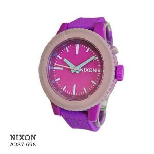 ニクソン 腕時計 NIXON  GOGO  A287698 RHODO   ロード文字盤  ロードベルト クオーツ ボーイズ|flore