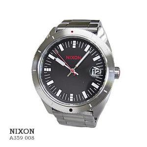 ニクソン 腕時計 NIXON A359008 ROVER SS II BLACK/RED ブラック文字盤  クオーツ メンズ|flore