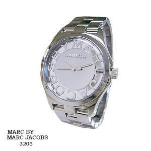 マーク バイ マーク ジェイコブス 腕時計 MARC BY MARK JACOBS  MBM3205  ミラー文字盤 スケルトン SSベルト クオーツ  メンズ|flore