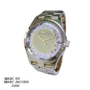 マーク バイ マーク ジェイコブス 腕時計 MARC BY MARK JACOBS  MBM3206  ミラー文字盤 スケルトン SSベルト クオーツ  メンズ|flore