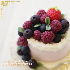 Lovely Sweets ホールケーキ(シリコーン型)|floree|03