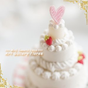 Lovely Sweets ホールケーキ(シリコーン型)|floree|04