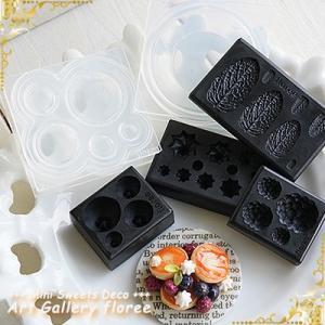 Lovely bread パンケーキ立体型(シリコーン型) floree 06