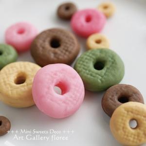 Lovely sweets ドーナツリングJ 立体型(シリコーン型) floree 03