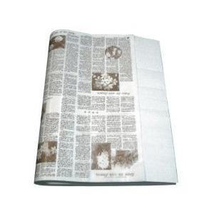 ニュース包装紙 セピア 並口40g/ 大(半才)500枚 / ランドセル ラッピング お店 フロロ|floro