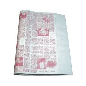 ニュース包装紙 ピンク 並口40g/ 大(半才)500枚 / ランドセル ラッピング お店 フロロ|floro