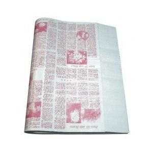 ニュース包装紙 ピンク 並口40g/ 中(4才)1000枚 / ランドセル ラッピング お店 フロロ|floro