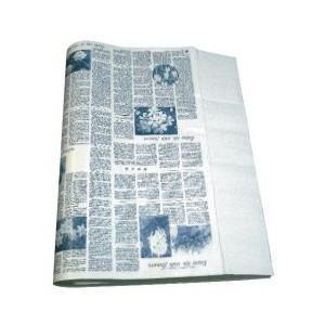 ニュース包装紙 ブルー 並口40g/ 中(4才)1000枚 / ランドセル ラッピング お店 フロロ|floro