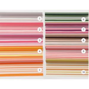 10色から選べる水に濡れてもやぶれない HDボーダーセロファン 65cm×20m 《2016hos》 / ランドセル ラッピング お店 フロロ|floro