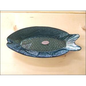 TOSSDICE トスダイス フィッシュガラストレイ (M) FISH GLASS TRAY 皿 食...