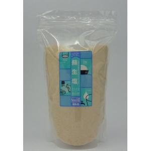 蘇生塩 1kg スポーツドリンク 熱中症対策水 リンゲル液 調味料 塩 ミネラル エフ・エル・アイ|flourhiro