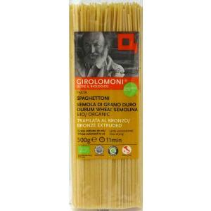 スパゲットーニ 500g イタリア産 有機 パスタ ジロロモーニ 創健社|flourhiro