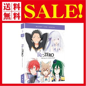 Re:ZERO Starting Life In Another World Season 1 Part 2 Blu-Ray/DVD(Re:ゼロから始|flow1