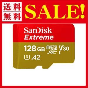 SanDisk ( サンディスク ) 128GB Extreme microSDXC A2 SDSQXA1-128G-GN6MA { 海外パッケージ品 flow1