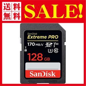 SanDisk サンディスク Extreme Pro SDXC 128GB カード UHS-I 超高速U3 V30 Class10 4K対応[並行輸入 flow1