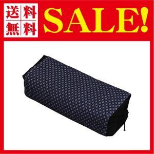 枕 そばがら 国産茶葉入り 抗菌 男のそば枕 高さ調節可能 62×32cm カバー付き 80275|flow1