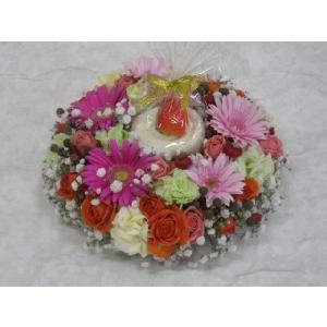 フラワーケーキ|flower-8729