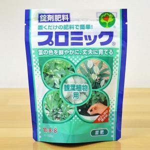 【商品内容】 錠剤肥料(置肥) ハイポネックス プロミック 観葉植物用 150g x 1  【適用植...