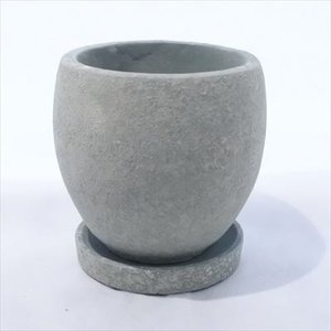 資 GA002-110GR グリーン 陶器 鉢 植木鉢 和風 インテリア 多肉植物 おしゃれ|flower-net