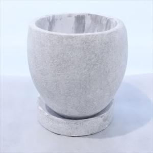 資 GA002-110WH ホワイト 陶器 鉢 植木鉢 和風 インテリア 多肉植物 おしゃれ|flower-net