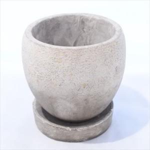 資 GA002-110TP グレー&ブラウン ツートンアンティーク 陶器 鉢 植木鉢 和風 インテリア 多肉植物 おしゃれ|flower-net