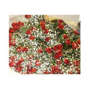 赤いバラ100本の花束ハッピーローズ【フラワーギフト】|flower