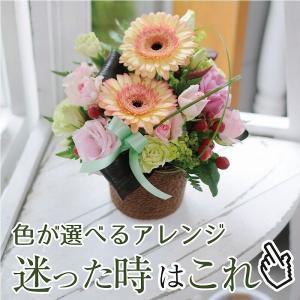花 ギフト 誕生日 フォーチュンカラー 誕生日 花 送料無料 フラワーアレンジメント  プレゼント|flower
