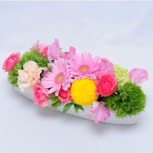 花 ひなまつり お祝い プレゼント 桃の節句 端午の節句 女の子 贈り物 ギフト フラワーアレンジメント ひなまつりアレンジメント(雛祭り限定)|flower