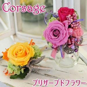 枯れない花 ギフト  プレゼント 花 枯れ ない プリザーブドフラワー コサージュ 卒業式 入学式 結婚式|flower