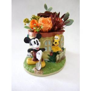 ミッキーとグーフィー flowerelegance