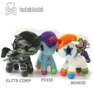 ユニコーン tokidoki トキドキ おもちゃ ぬいぐるみ かわいい PIXIE BOWIE ELITECORP Mサイズ クリスマス 誕生 ギフト プレゼント|flowerkids