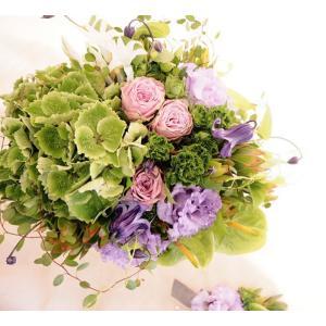 【ウエディングブーケ】ニュアンスカラー・ローズ|flowerliberte