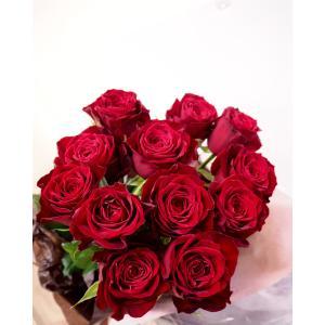 深紅のバラの花束 |flowerliberte
