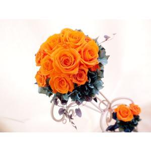 【ウエディングブーケ】サムシングブルー・キャスケードブーケ|flowerliberte