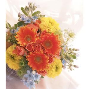 ビタミンカラーの花束【誕生日・お祝い・母の日】|flowerliberte