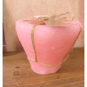 カルデラ・キャンドル CALDERA CANDLE【ローズ香り PINK】|flowerliberte