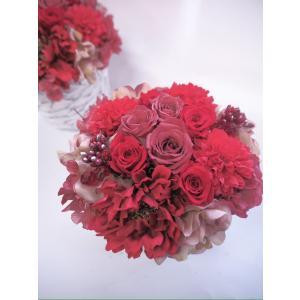 プリザーブドフラワーのアレンジメント【ホワイト】|flowerliberte
