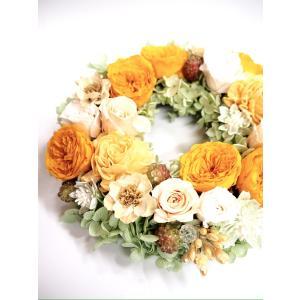 プリザーブドフラワーのアレンジメント【ライムグリーン】|flowerliberte